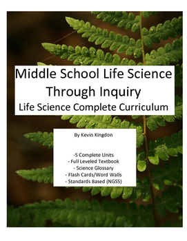 Complete Middle School Life Science Curriculum