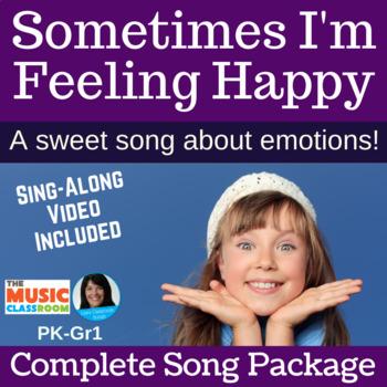 "FEELINGS | ""Sometimes I'm Feeling Happy"" Action Song | Com"