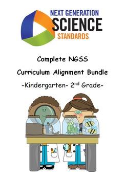 Complete NGSS Curriculum Alignment Bundle: Kindergarten- 2