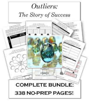 Outliers: The Story of Success BUNDLE: 338 No Prep Pages (