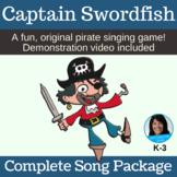 """PIRATE Song   """"Captain Swordfish"""" Action Song   Complete Package"""