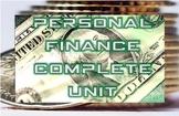 Complete Personal Finance Unit
