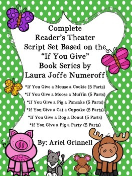"""Complete Reader's Theater Script Set Based on the """"If You"""