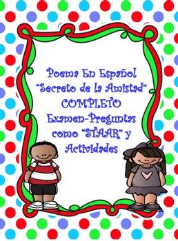 "Complete SPANISH Poem-""Secreto de la amistad"""