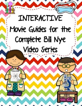 Complete Set of Video Worksheets (Movie Guides) for Bill N