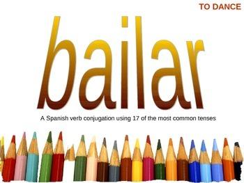 Complete Spanish Verb Conjugation Pack -- Set 1 -- 14 Comm