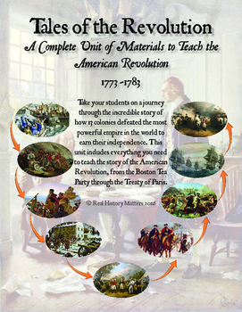 American Revolution - Complete Unit (Text and ALL material