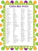Complete Word Wall for Grade 3 - Murale des mots pour la 3