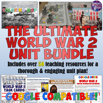 World War II Complete Unit Plan Bundle