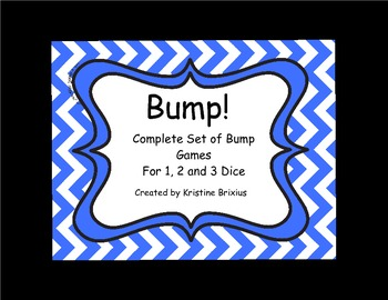 Complete Year of Bump! (1, 2 and 3 Dice)