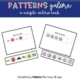 Patterns Galore! (An Easy Velcro Task for Students with Autism)