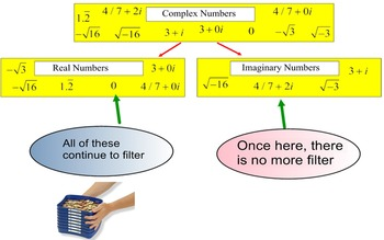 Complex Numbers, Classify & Define 2 Student References &