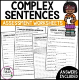Complex Sentence Test - Review your students grammar and p