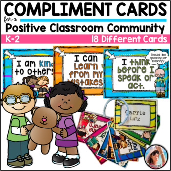 Compliment Cards For Creating a Positive Classroom Community