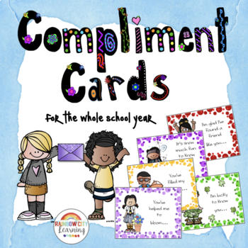 Compliment Cards for the Whole School Year
