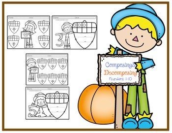 Compose and Decompose Numbers 1-10