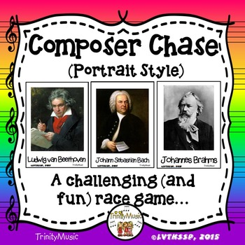 Composer Chase - Portrait Version (Relay Game for Composer