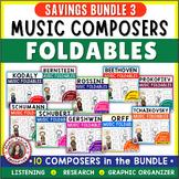 Composer Foldables Bundle 3