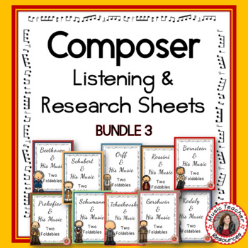 Composer Foldables Bundle 3