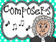 Review Game - Composer, President, Goofball (Grades 3 - 6)