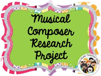 MUSICAL COMPOSER RESEARCH PROJECT OUTLINE / QUESTIONNAIRE