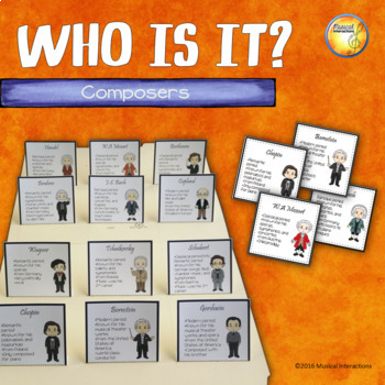 Composer Who Is It?- File Folder Game