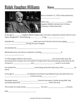 Composers: Vaughan Williams