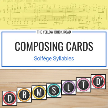 Composing Cards for Voice or Boomwhackers (freebie)