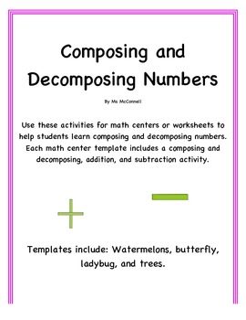 Composing & Decomposing Numbers