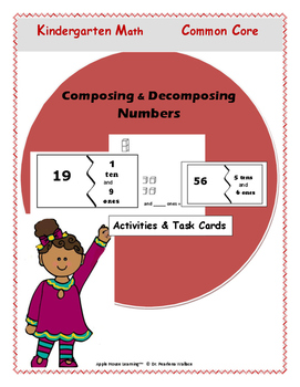 Composing & Decomposing  Numbers  - Activities and Workshe