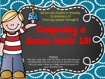Composing a Seuss-tastic 10!