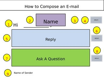 Composing an Email File Folder Activity
