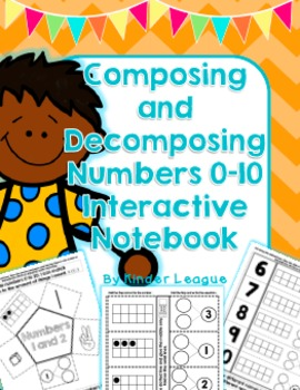 Composing and Decomposing Numbers 0-10 Interactive Noteboo
