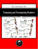 Composing and Decomposing Numbers Card Match (3.2A, 4.NBT.2)