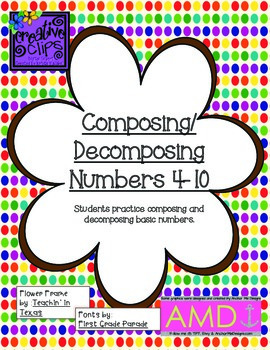 Composing/Decomposing Numbers 4-10