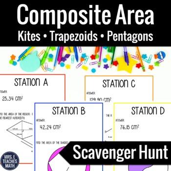 Composite Area Scavenger Hunt (Honors Level)