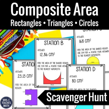 Composite Area Scavenger Hunt