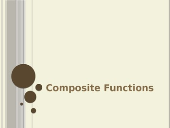 Composite Functions