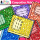 Composition Notebook Clip Art {Back to School Supplies Gra