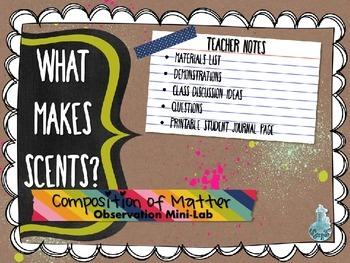 Composition of Matter Mini-Lab