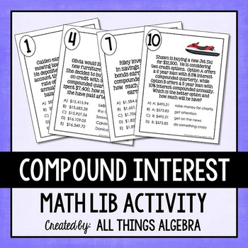 Compound Interest Math Lib