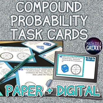 Compound Probability Task Cards
