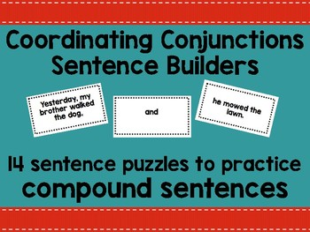 Compound Sentence Builder
