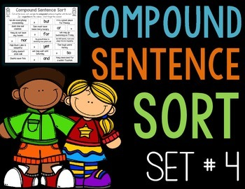 Compound Sentence Sort, Set 4