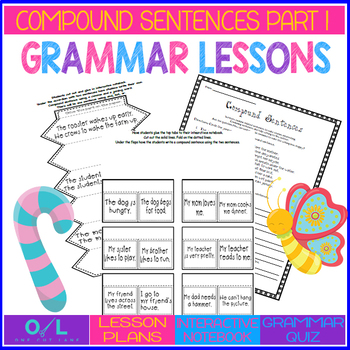 Compound Sentences {Journeys} Week #11