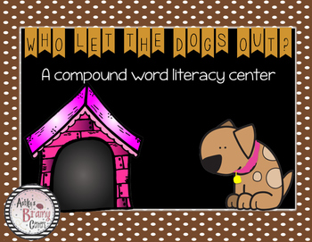 Compound Word Center (Dog themed)