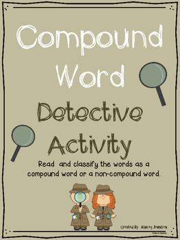 Compound Word Detective Sort