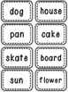 Compound Word Foldable and Word Cards