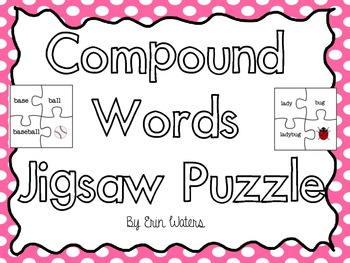 Compound Word Jigsaw Puzzles