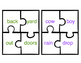 Compound Word Mini Puzzles